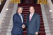 Thủ tướng Nguyễn Xuân Phúc tiếp Trưởng Ban Tổ chức Trung ương Lào
