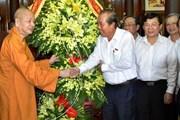 Phó Thủ tướng Trương Hòa Bình chúc mừng Đại lễ Phật đản tại Huế
