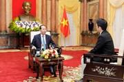 Chủ tịch nước trả lời phóng vấn báo chí trước chuyến thăm Nhật Bản