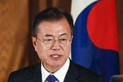 'Ông Kim Jong-un gợi ý tổ chức cuộc gặp Hàn Quốc-Triều Tiên-Mỹ'