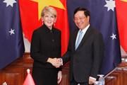 Bộ trưởng Ngoại giao Việt Nam-Australia chủ trì cuộc họp lần thứ nhất