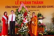 Giáo hội Phật giáo khánh thành Thiền viện Trúc Lâm Hậu Giang