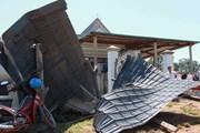 Quảng Ngãi: Lốc xoáy làm tốc mái gần 100 ngôi nhà ở Ba Tơ