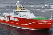 Anh ra mắt siêu tàu phá băng khổng lồ mới, trị giá 256 triệu USD