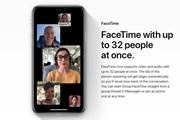 Apple bất ngờ ra thông báo hoãn ra FaceTime nhóm trong iOS 12