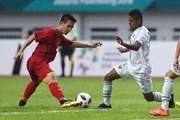 Hùng Dũng vẫn ở lại Indonesia cùng đội tuyển Olympic Việt Nam