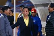 Bầu Hiển nói gì về tiền thưởng trước trận Hà Nội FC gặp Quảng Ninh