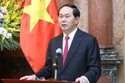 Chủ tịch nước Trần Đại Quang: Tiềm năng quan hệ Việt-Nhật còn rất lớn