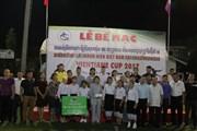Bế mạc giải bóng đá thanh niên Việt Nam tại Lào lần thứ IV