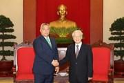 Tổng bí thư: Bước phát triển mới trong quan hệ Việt Nam-Hungary