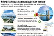 [Infographics] Những danh hiệu nhất thế giới của du lịch Đà Nẵng