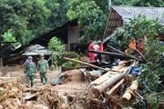 Tiếp tục hỗ trợ các địa phương khắc phục hậu quả thiên tai