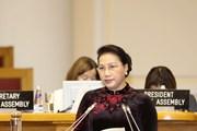 Chủ tịch Quốc hội phát biểu tại Phiên thảo luận toàn thể IPU-137