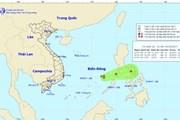 Vùng áp thấp còn cách đảo Song Tử Tây khoảng 360km