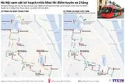 [Infographics] Hà Nội xem xét triển khai thí điểm tuyến xe 2 tầng