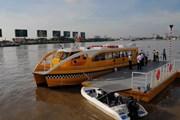 Tuyến buýt sông đầu tiên tại TP.HCM sẵn sàng đưa vào khai thác