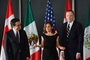 Vòng 5 tái đàm phán NAFTA kết thúc với nhiều bất đồng lớn