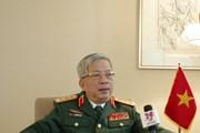 Thượng tướng Nguyễn Chí Vịnh tiếp Cố vấn Thủ tướng Nhật Bản