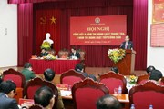 Hội nghị tổng kết thi hành Luật Thanh tra và Luật Tiếp công dân