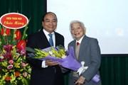 Thủ tướng tin tưởng sẽ có thêm nhiều nhân tài như Giáo sư Hoàng Tụy
