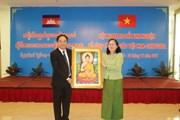Việt Nam-Campuchia trao đổi kinh nghiệm về công tác tôn giáo
