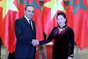 Chủ tịch Quốc hội đón, hội đàm với Chủ tịch Hạ viện Vương quốc Maroc