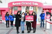 Korea Grand Sale 2018 - tưng bừng mua sắm tại Hàn Quốc