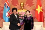 Chủ tịch Quốc hội Nguyễn Thị Kim Ngân tiếp Chủ tịch Quốc hội Fiji
