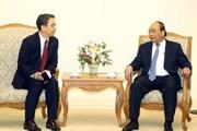 Thủ tướng Nguyễn Xuân Phúc tiếp Tổng giám đốc Doosan Vina