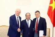 Thủ tướng Nguyễn Xuân Phúc tiếp giáo sư Đại học Havard