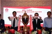 Xếp lịch thi đấu các giải bóng đá chuyên nghiệp Việt Nam năm 2018