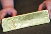 Giá vàng thế giới đi lên sau bốn ngày sụt giảm liên tiếp