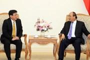 Thủ tướng Nguyễn Xuân Phúc tiếp Chủ tịch Tập đoàn Sojitz