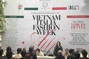 Tôn vinh lụa tại Tuần lễ thời trang Thu Đông Việt Nam-Italia