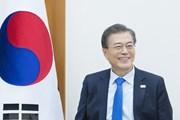 'Tổng thống Moon Jae-in quyết tâm tăng cường quan hệ với Việt Nam'