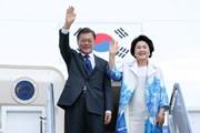 Tổng thống Hàn Quốc và Phu nhân bắt đầu thăm cấp Nhà nước Việt Nam