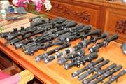 Bắt giữ 4 đối tượng chế tạo, mua bán, tàng trữ trái phép vũ khí