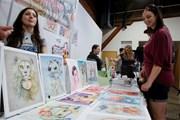 [Photo] Triển lãm nghệ thuật tranh hoạt hình Vancouver 2018