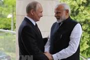 Ấn Độ-Nga chuẩn bị tổ chức Đối thoại chiến lược kinh tế lần đầu tiên