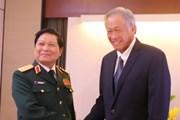 Đại tướng Ngô Xuân Lịch tiếp xúc song phương bên lề Shangri-La 2018