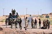 Lực lượng chính phủ Syria bao vây căn cứ Mỹ tại cửa khẩu