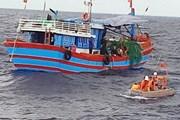 Tàu vận tải va vào tàu cá, 3 thuyền viên vẫn đang mất tích