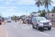 Bình Định: Xe máy va chạm với ôtô làm 2 người thiệt mạng