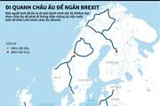 Lái xe 30.000km vòng quanh châu Âu để ngăn tiến trình Brexit