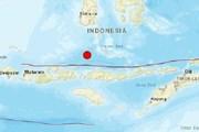 Indonesia lại rung chuyển vì động đất, tâm chấn cách Lombok 500km