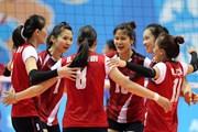Tuyển nữ bóng chuyền Việt Nam sẵn sàng cho trận gặp Thái Lan
