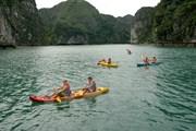 Vùng, tuyến nào trên vịnh Hạ Long được phép chèo thuyền kayak?