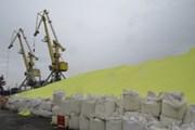 [Video] Hải Phòng khẩn trương di dời hơn 3 vạn tấn lưu huỳnh