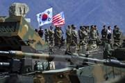 Hàn Quốc và Mỹ thảo luận thời điểm tiến hành tập trận chung