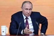 Tổng thống Putin: Trung Quốc luôn là đối tác chiến lược của Nga